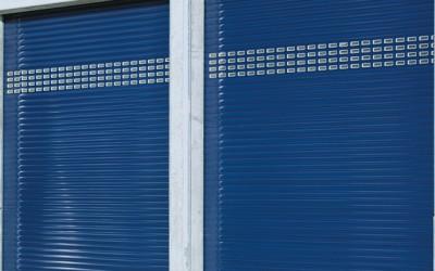 rolovací průmyslová vrata 3