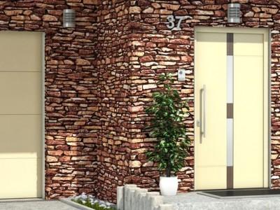 Dveře s oboustranně překrytou výplní 2