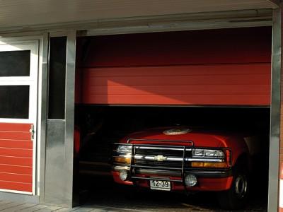 garážové dveře s nepřerušeným tepelným mostem 3