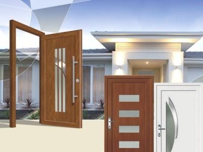 Vchodové dveře Klasik
