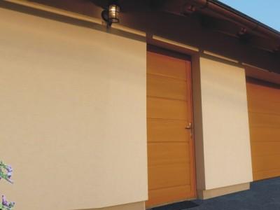 vedlejší garážové dveře s přerušeným tepelným mostem 2
